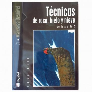 Capa do livro Técnicas de roca, hielo y nieve