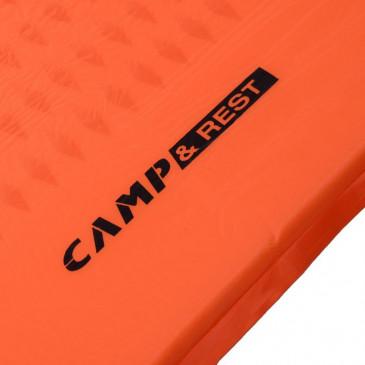Detalhe do Isolante Auto Inflável Light Mat Camp