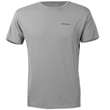 Camiseta Columbia Manga Curta Cool Breeze Masculina Cinza
