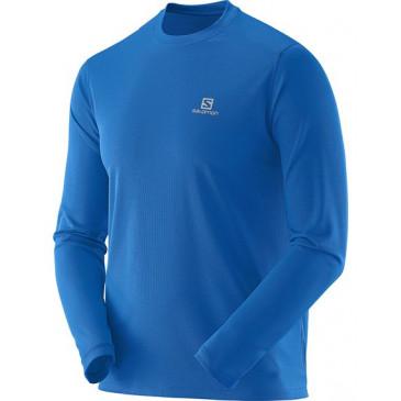 Camiseta Salomon Comet Manga Longa Masculina Azul