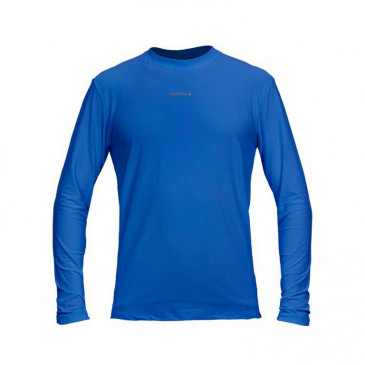 Camiseta Curtlo Active Fresh Manga Longa - Azul Royal 188cad5629f1b