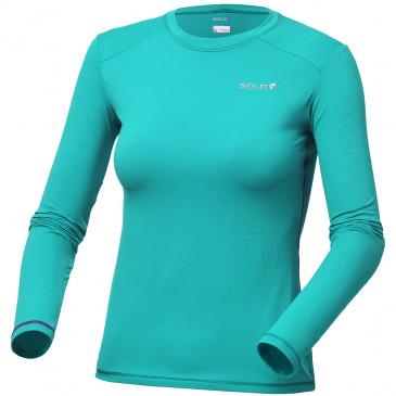 Camiseta Solo Ion UV Lady Azul Turquesa