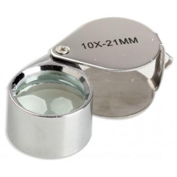 Lupa de bolso de 10X 21mm