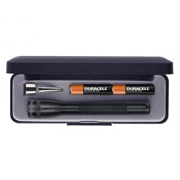 Lanterna Mini Maglite dentro da caixa