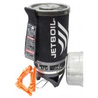 Peças que compões o Kit Fogareiro Jetboil Flash Carbono