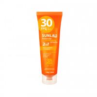 Protetor Solar 30 fps com Repelente de Insetos Sunlau