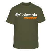 Camiseta Columbia Cool Breeze Montrail Masculino Verde
