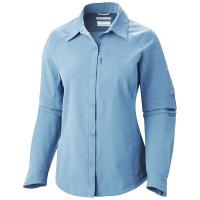 Camisa Columbia Silver Ridge Manga Longa Feminina Blue Sky