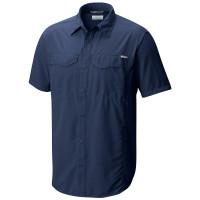Camisa Columbia Silver Ridge M Curta Masc Carbon