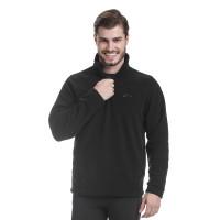 Blusão Fleece Comfort Masculina Preto