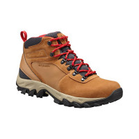 Bota Columbia Newton Ridge Plus II Suede Masculina Mountain Red