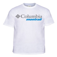 Camiseta Columbia Cool Breeze Montrail Masculino Branco