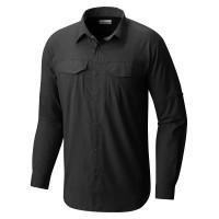 Camisa Columbia Silver Ridge Lite Preto ML Masculina
