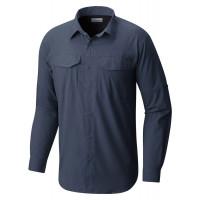 Camisa Columbia Silver Ridge Lite Zinc ML Masculina
