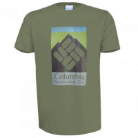 Camiseta Columbia Manga Curta In The Open Verde Mostone