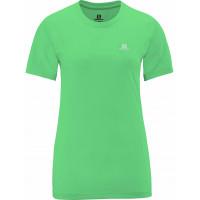 Camiseta Salomon Comet Manga Curta Feminina Verde Jasmin