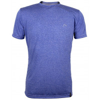 Camiseta Dry Living Men Conquista Azul