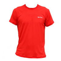Camiseta com Proteção UV Hike&Track Vermelho