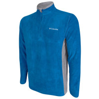FLEECE COLUMBIA KLAMATH AZUL CLARO