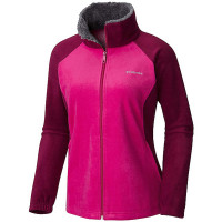 Jaqueta Columbia Fleece Dotswarn II - Dark Raspberry