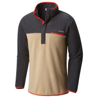 Blusa Fleece Columbia Mountain Side Masculina Bege
