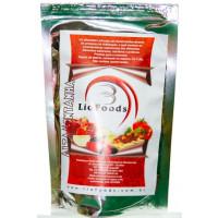 Kit Carne de soja ao sugo, arroz integral com lentilha e purê de batatas Liofoods