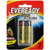 Pilhas Alcalinas Eveready Gold AA-2