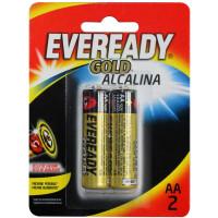 Pilhas Alcalinas Eveready Gold AA-2