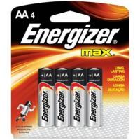 Pilhas Energizer Alcalinas com 4