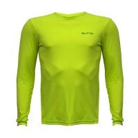 Camiseta com Proteção UV Hike&Track Verde