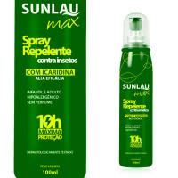 Repelente Spray Sunlau Max com Icaridina