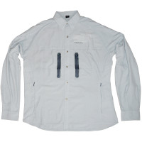 Camisa Suplex manga longa Cinza | Prata