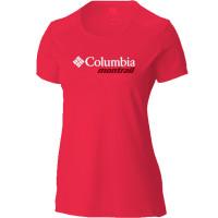 Camiseta Columbia Cool Breeze Montrail Feminino Red Carmélia