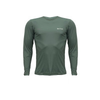 Camiseta Repelente Hike&Track Verde Frente
