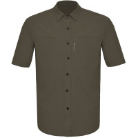 Camisa Curtlo Comfort MC Masculina | Marrom