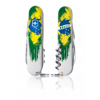 Canivete Suíço Victorinox Climber Bandeira do Brasil 2