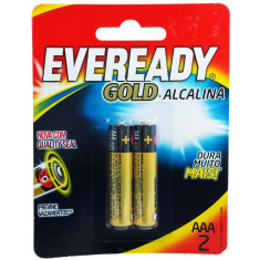 Pilhas Alcalinas Eveready Gold AAA-2