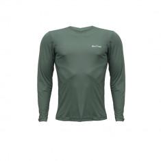 Camiseta Repelente Hike&Track Verde Frente